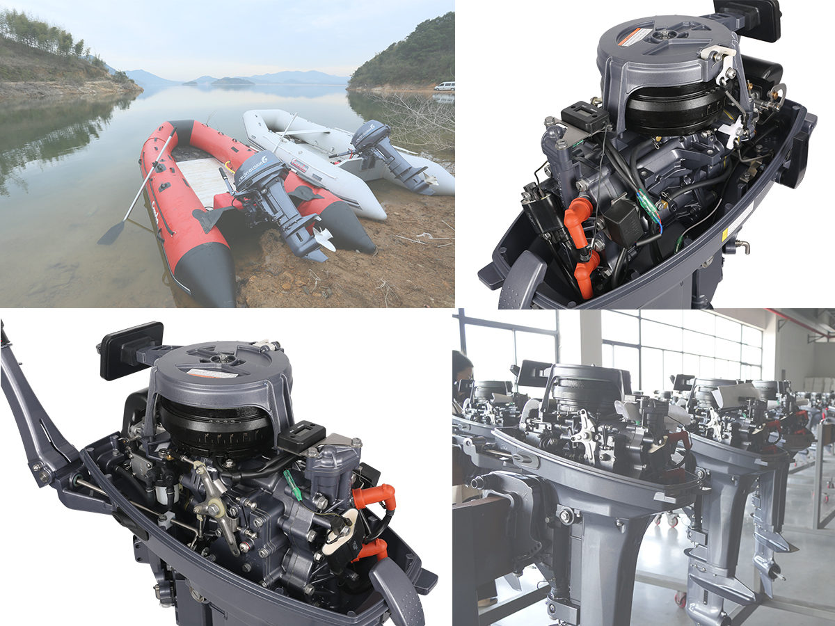 18 HP Outboard Motor