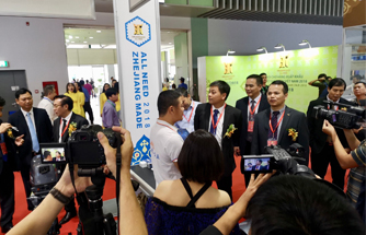 Calon Gloria on the 7th Zhejiang Export Fair in Vietnam