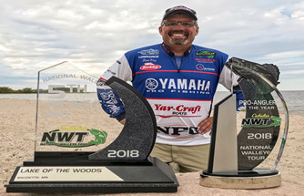 YAMAHA PRO BRETT KING EARNS NATIONAL WALLEYE TOUR