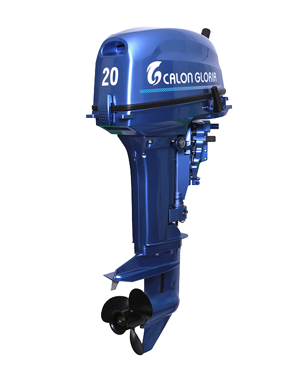 20HP OUTBOARD MOTOR (BLUE)