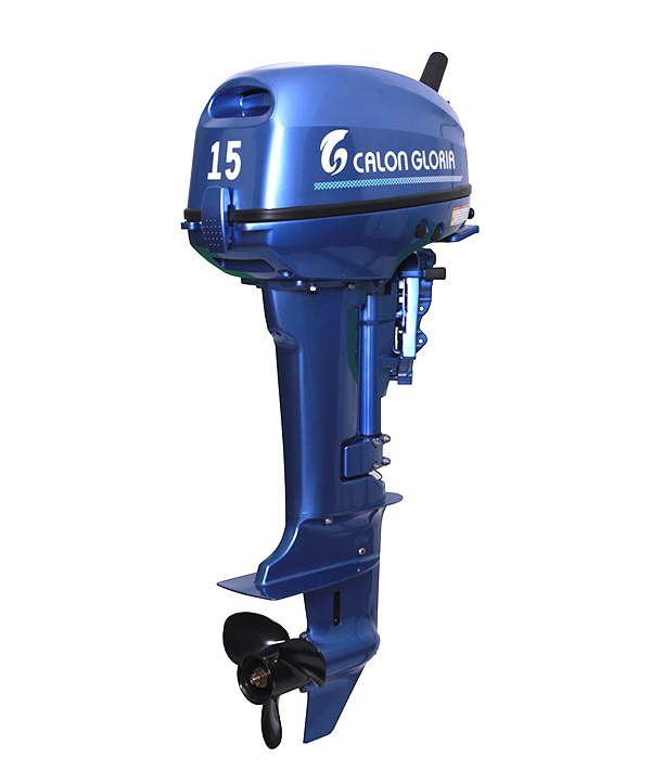 15HP OUTBOARD MOTOR (BLUE)