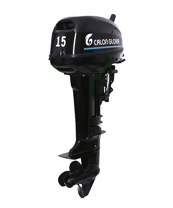 15HP OUTBOARD MOTOR (BLACK)