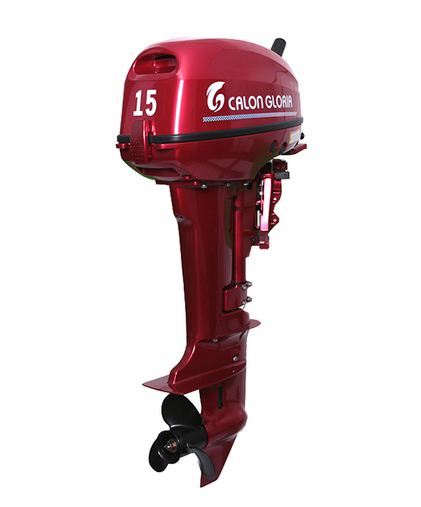 15HP OUTBOARD MOTOR (RED)