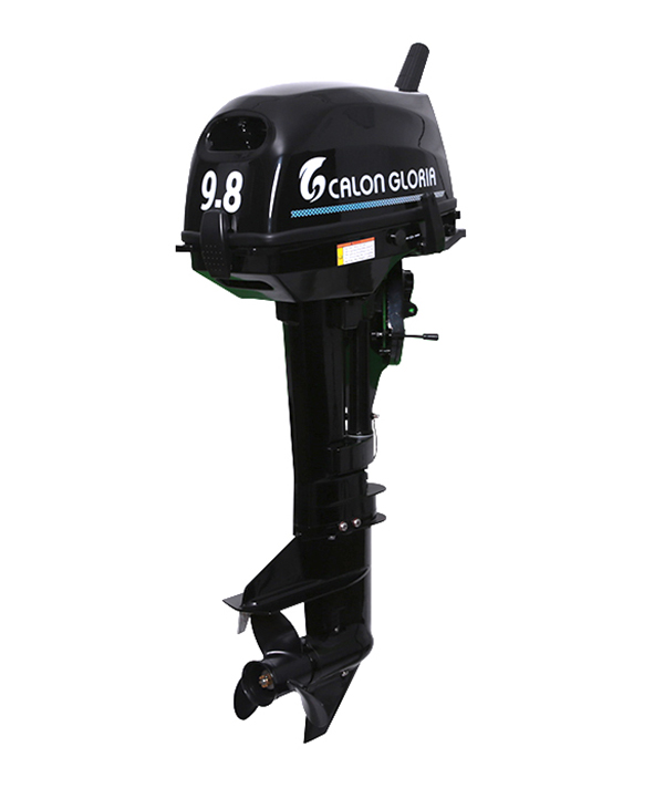 9.8HP OUTBOARD MOTOR (BLACK)